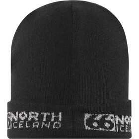 66° North Workman Cap black/silver reflective